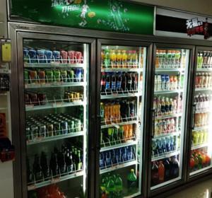 飲料柜玻璃門