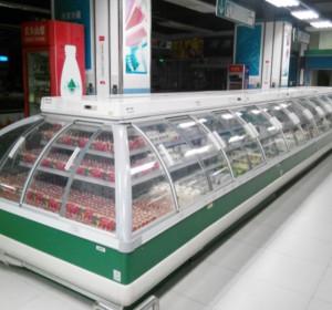 超市半高柜玻璃門